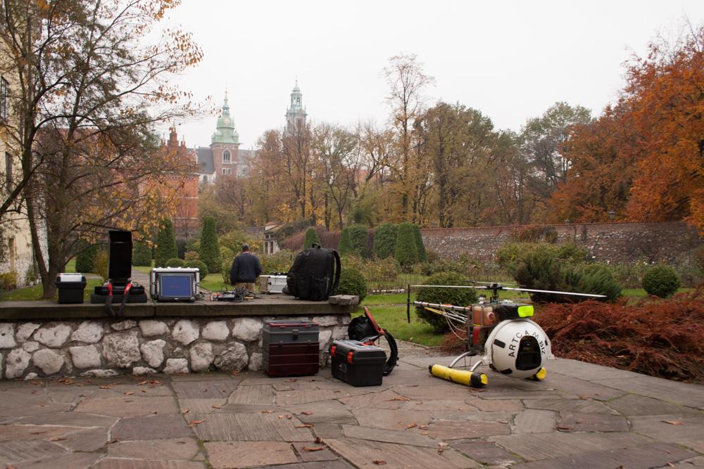 Helicam, Krakow, film promocyjny, 2007