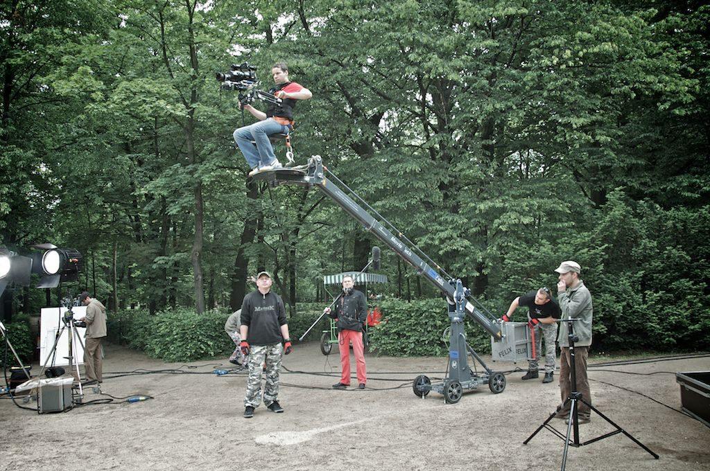 2009r. Jacek Drofiak Steadicam steadi + crane, WSF