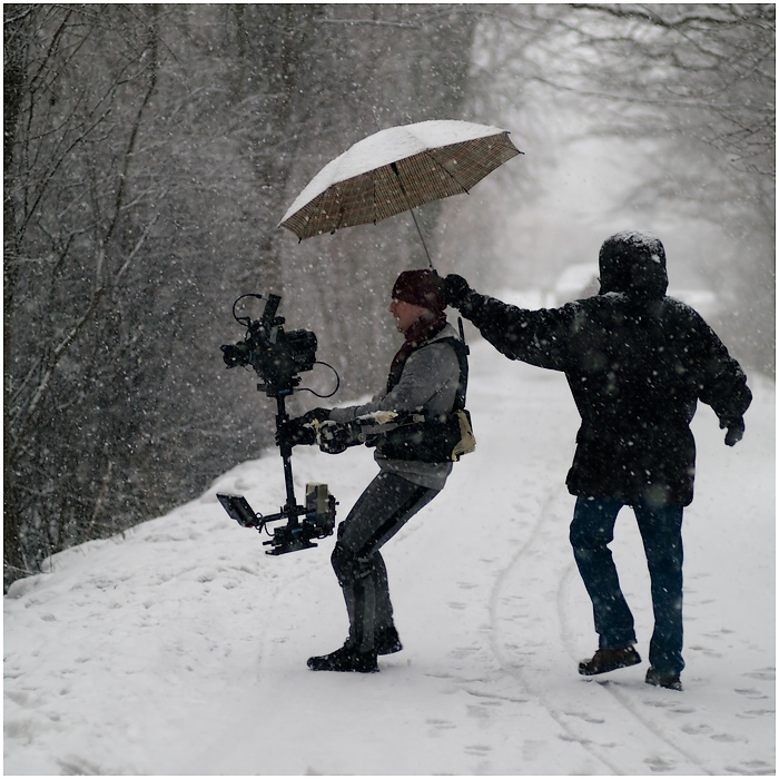 2010r. Jacek Drofiak Steadicam, Redone snow