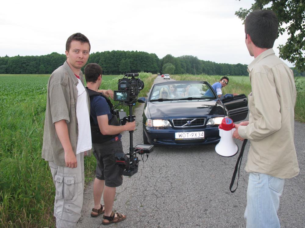 2010r. Jacek Drofiak Steadicam, Redone, teledysk Komarenko