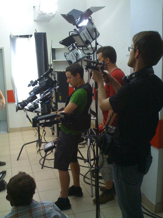 2010r. Jacek Drofiak Steadicam, film korporacyjny kompania piwowarska
