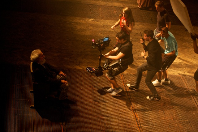 2011r. Jacek Drofiak Steadicam, film WSF