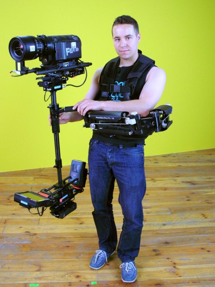 2011r. Jacek Drofiak Steadicam, Reklama Samsung