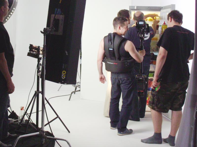 Drofiak Steadicam 2011, Reklama Samsung