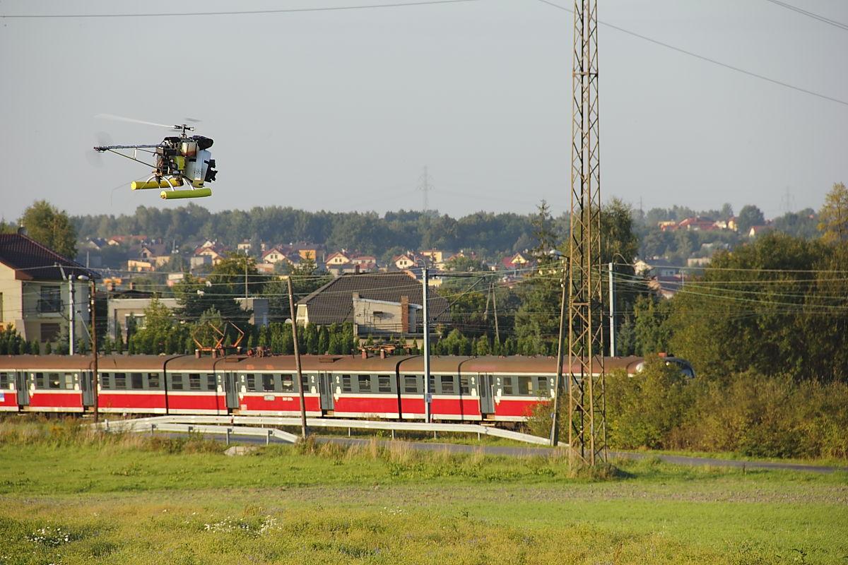 """Helicam, """"4:13 do Katowic"""" z Robertem Więckiewiczem, 2011"""