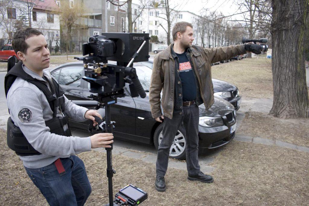 """2012r. Jacek Drofiak Steadicam, stereoskopia, """"Powstanie Styczniowe"""""""