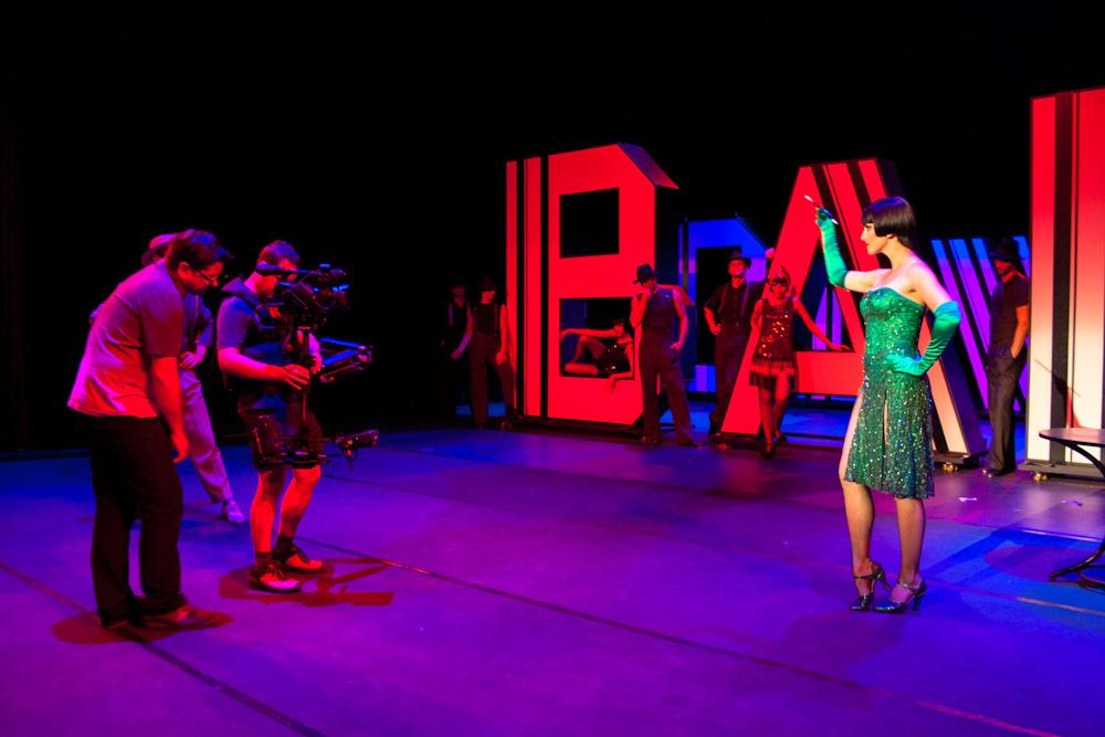 "2012r. Jacek Drofiak Steadicam, Teatr Roma ""Deszczowa Piosenka"""