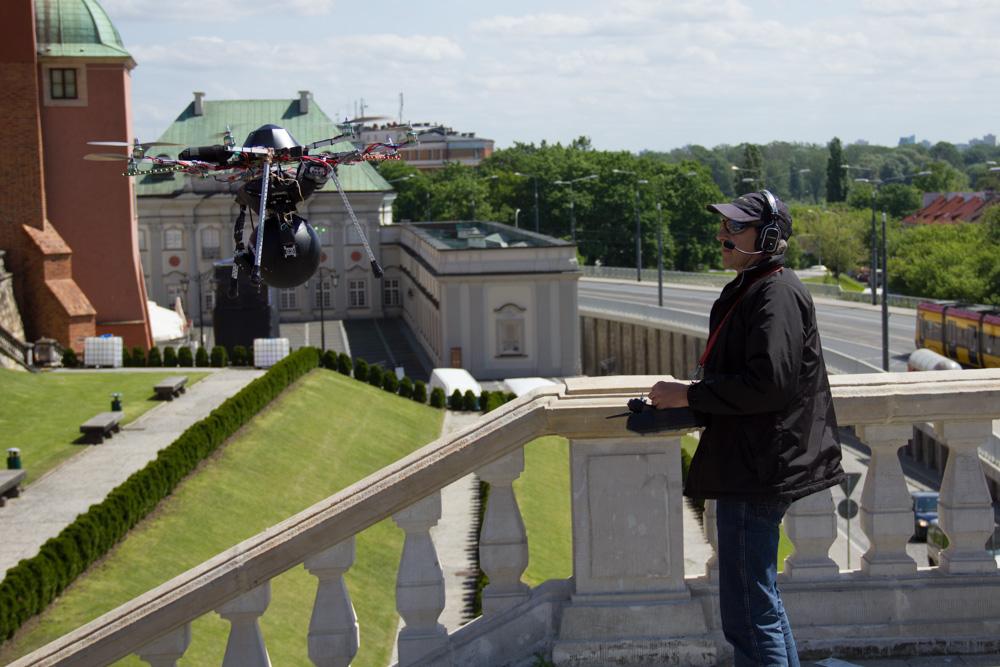 Oktokopter, film promujący Polskę przed Euro 2012 dla ZDF (niemiecka państwowa telewizja) 2012