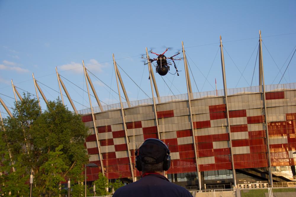 Oktokopter, TVP1 Euro 2012