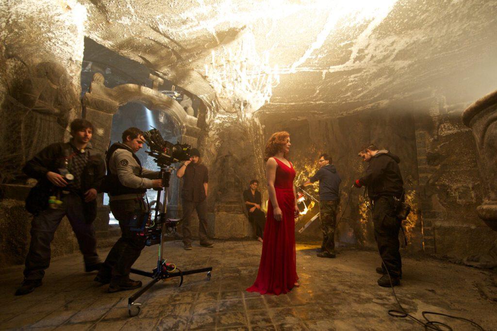 "2013r. Jacek Drofiak Steadicam, film ""Umbra"""