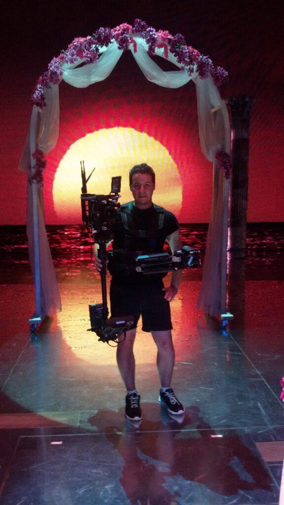 "2014r. Jacek Drofiak Steadicam, Teatr Roma ""Mamma Mia"""