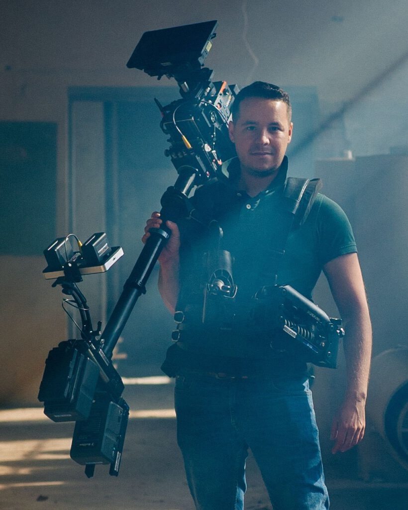 "2018r. Jacek Drofiak Steadicam, film ""Fighter"""