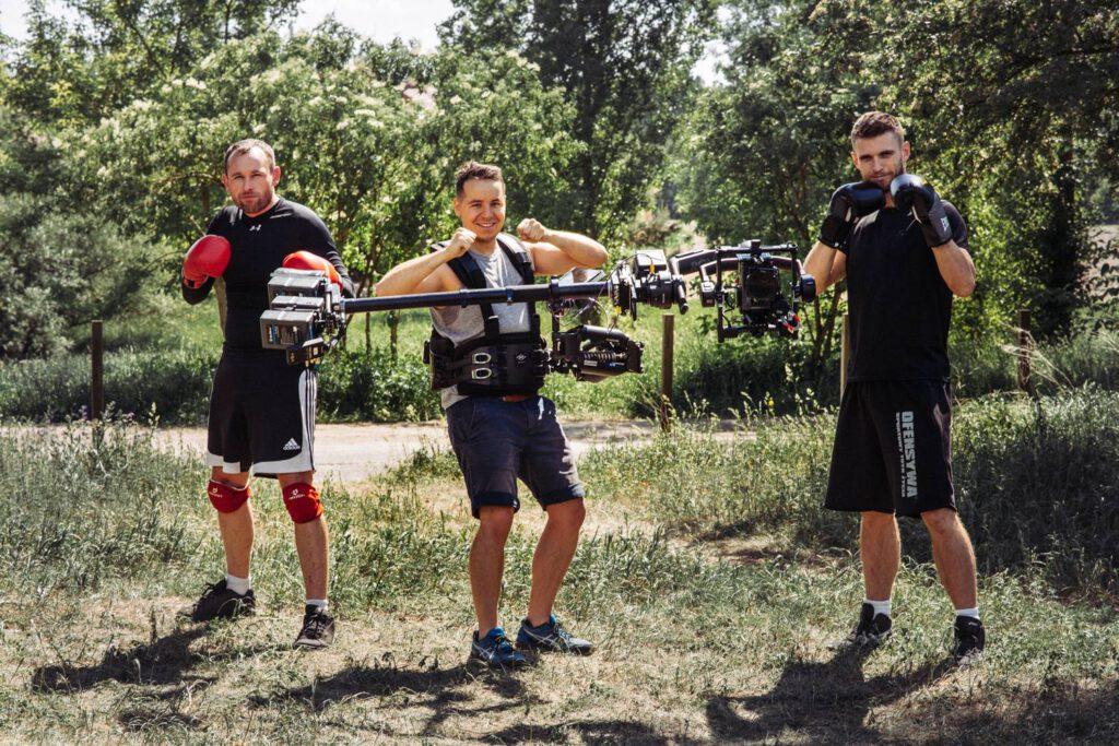 """2018r. Jacek Drofiak Steadicam, próbne zdjęcia, """"Fighter"""""""