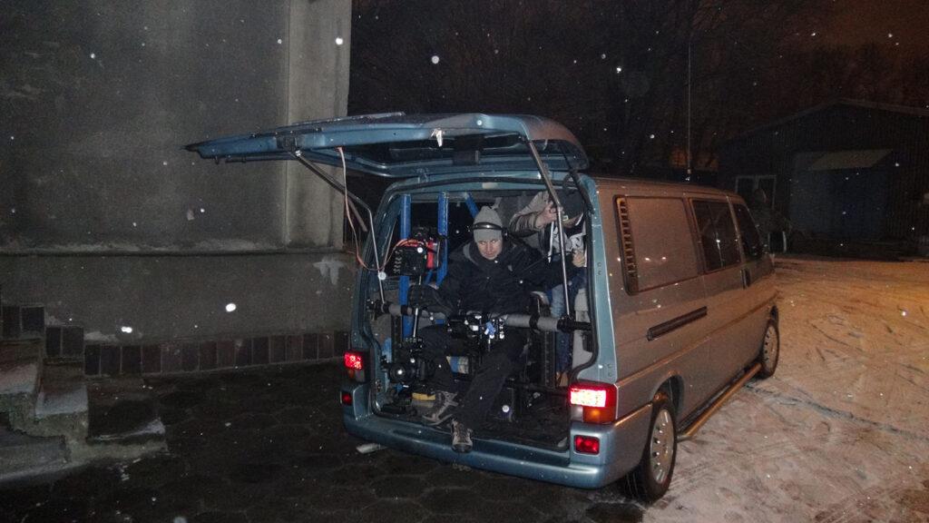 "2013r. Jacek Drofiak Steadicam, teledysk TEDE ""Wunderbaum"""