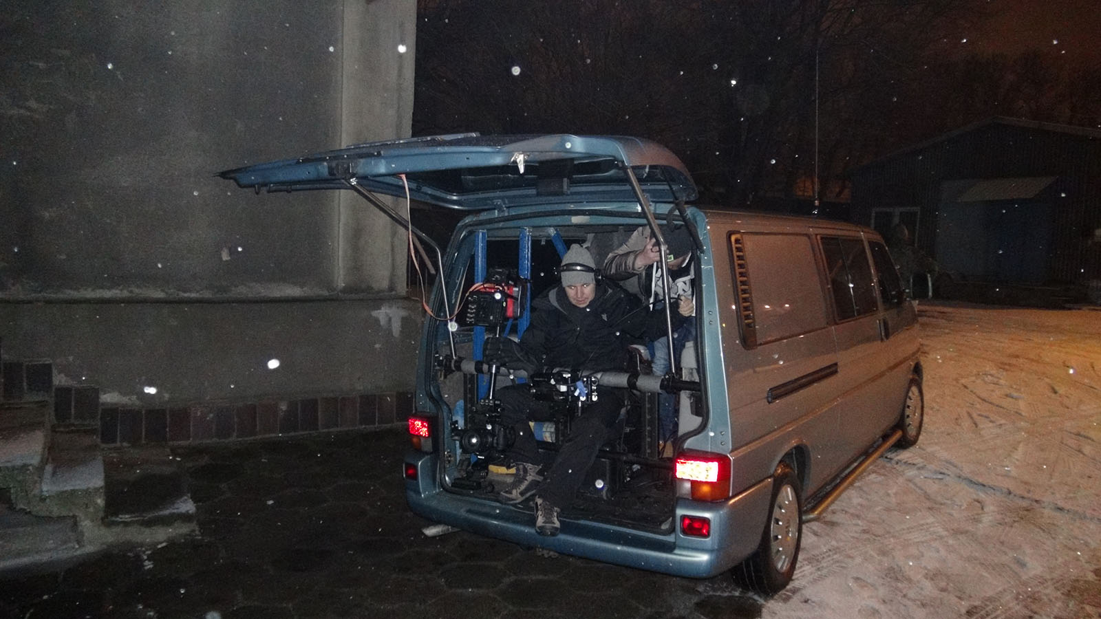 "Steadicam Bus Jacek Drofiak ""TEDE"""