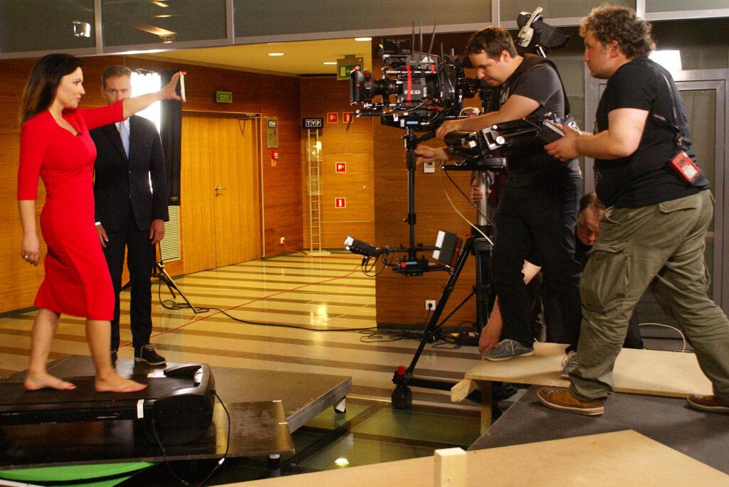 """2013r. Jacek Drofiak Steadicam, TVP spot """"Wieczór Wyborczy"""""""